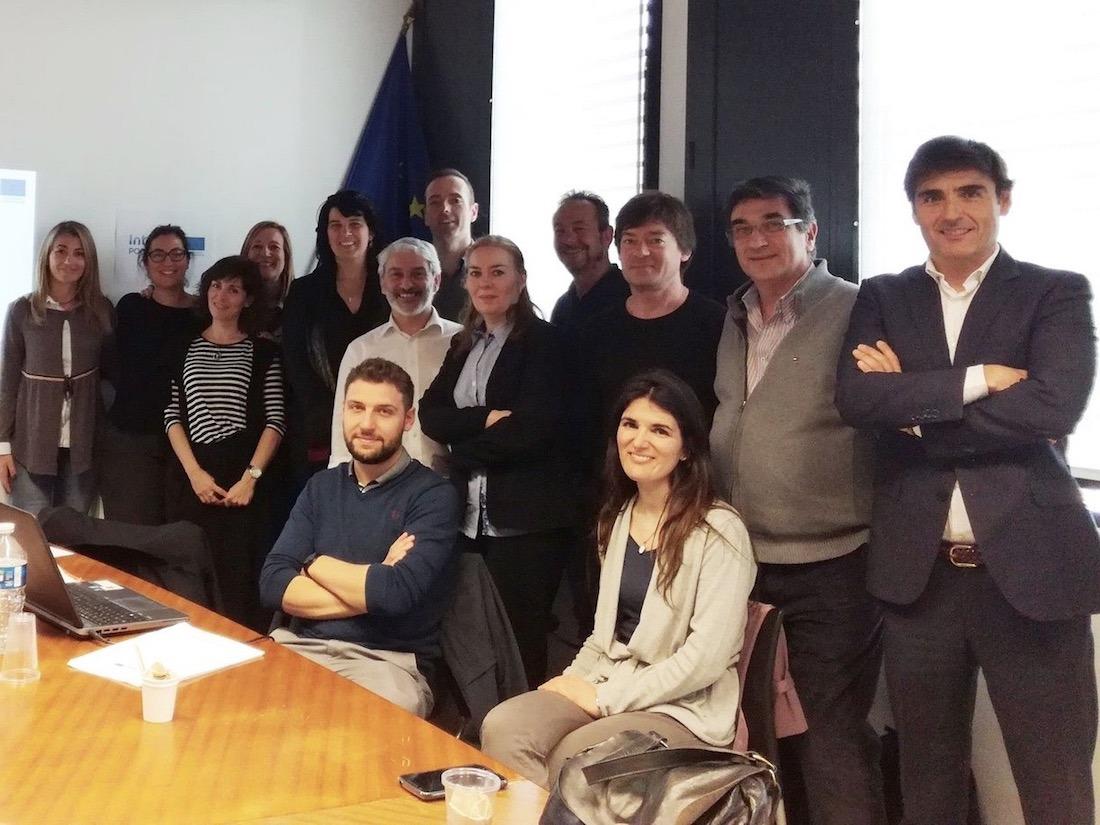 Imagen de los socios del proyecto, en la reunión de la puesta en marcha celebrada en la Universidad Federal Toulouse Midi-Pyrénées de Francia.