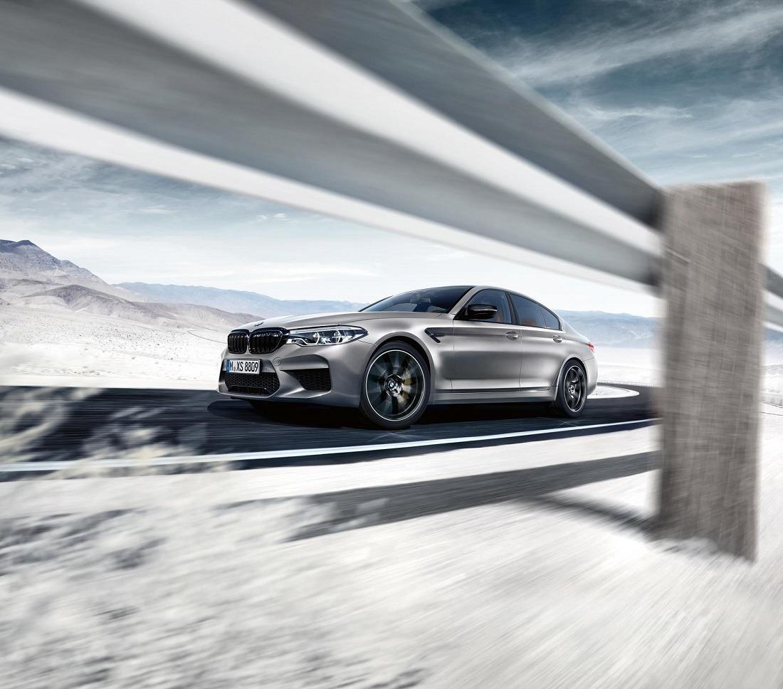 Imagen promocional del nuevo BMW M5