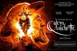 Cartel promocional de la película 'El hombre que mató a Don Quijote', rodada en Gallipienzo, que se proyectará en el Festival de Cannes.