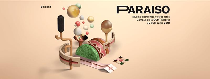 Cartel de la I Edición del Festival Paraíso.