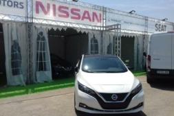 Nissan ha presentao los nuevos LEAF ye-NV200 en la III edición de ECOMOV