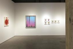 Varias obras de la exposición MPA On Paper, en la galería Moisés Pérez de Albéniz de Madrid.