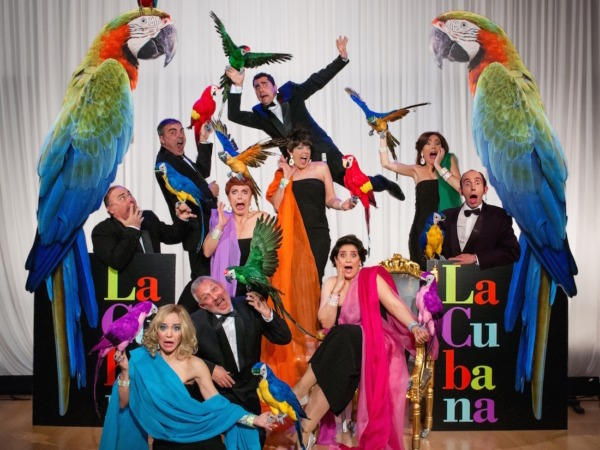 Es la segunda vez que La Cubana actuará en San Fermín, después de la obra 'Campanadas de boda' en 2013.