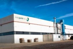 Imagen exterior de la factoría de Indugarbi en Murillo El Fruto
