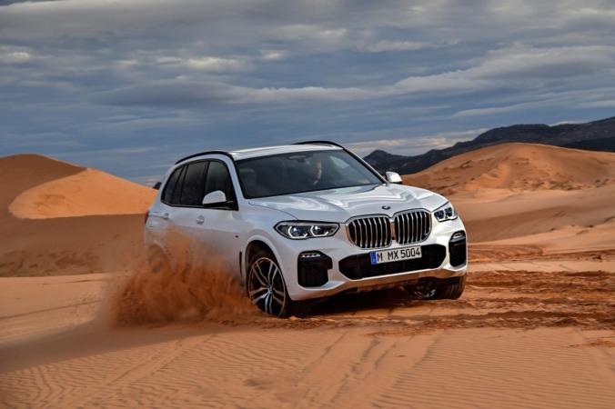 Imagen promocional del nuevo BMW X5