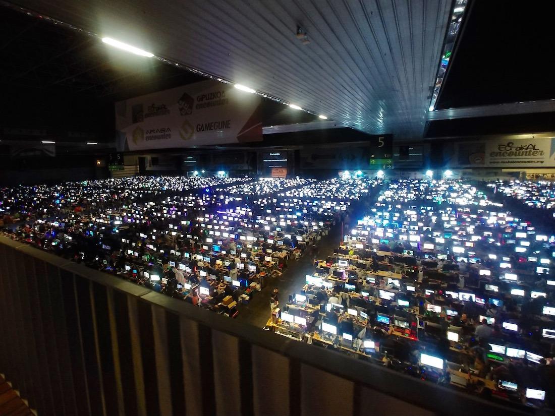 Imagen del Euskal Encounter, el encuentro tecnológico que el pasado fin de semana tuvo lugar en Bilbao.