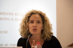 Elena Zabalza en Valencia.