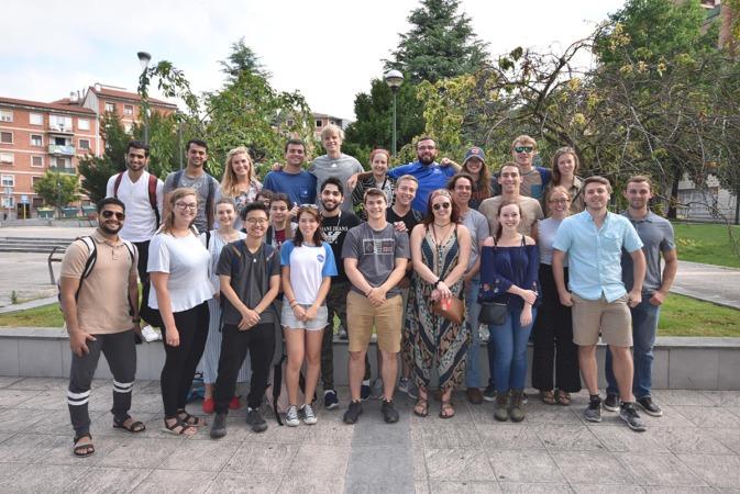 Alumnos del curso internacional de Energías Renovables.