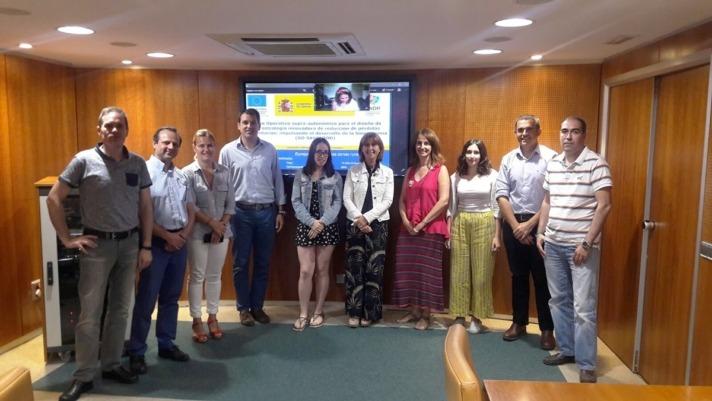Los colaboradores de Go Savefood se reunieron ayer, 30 de julio, en Madrid.