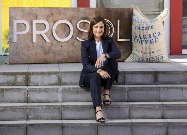Rocío Hervella, fundadora de Prosol que fabrica productos solubles, fundamentalmente café, cereales y mezclas. | PABLO REQUEJO