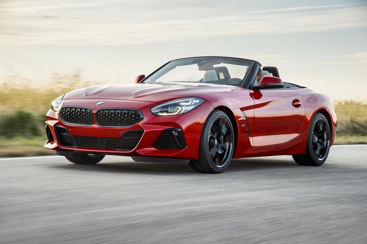 Imagen promocional del nuevo BMW Z4