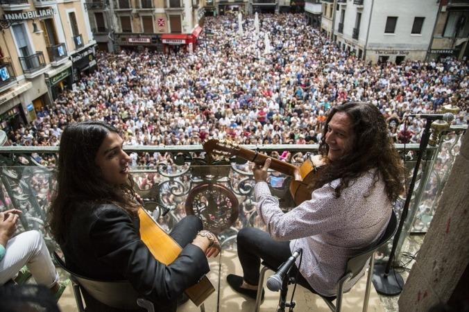 """En su balance final, los promotores del V Flamenco On Fire han afirmado que Pamplona cuenta con""""el mejor festival de flamenco del mundo""""."""