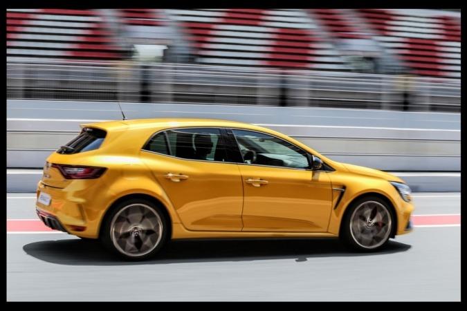 Imagen promocional del nuevo Renault Mégane RS Trophy