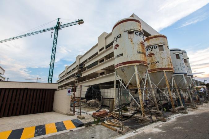El dinamismo del sector de la construcción  compensa la menor actividad industrial.