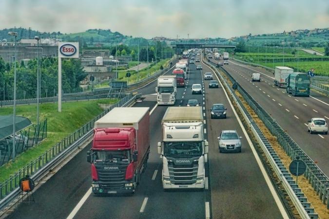 En junio crecieron sobre todo las cifras de negocios del transporte.