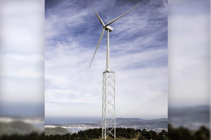 Prototipo de la torre Nabrawind.
