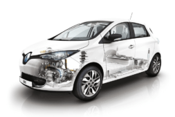 Imagen detallada de la mecánica que incluye el nuevo Renault ZOE
