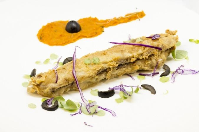 Estas costillas de atún rojo salvaje son una de las propuestas de la rura gastronómica 'El pincho de Sabicas'.