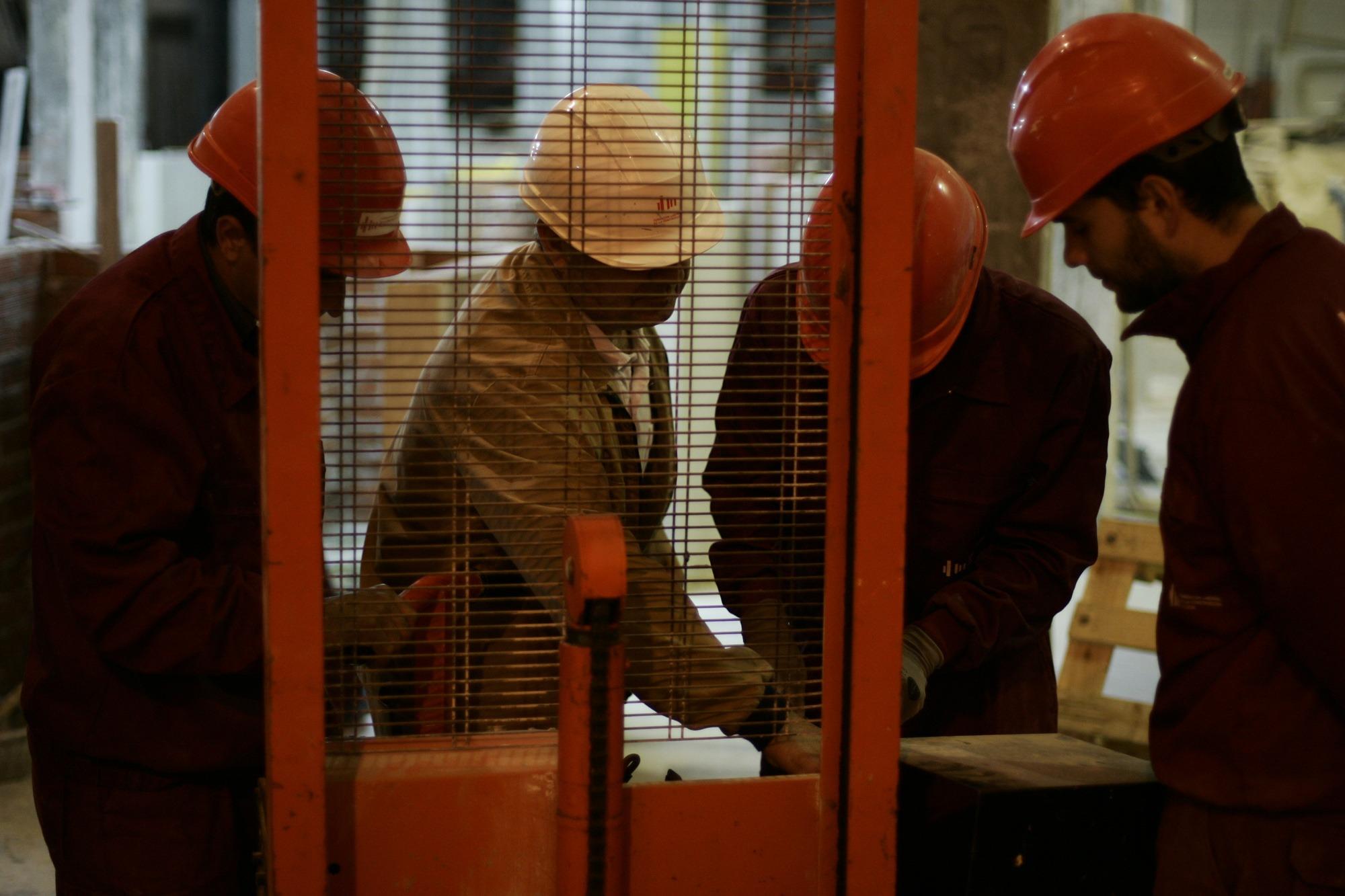 La Fundación Laboral de la Construcción forma cada año a una media de más de 70.000 profesionales del sector.