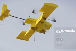 Correos colabora con Fuvex para enviar drones a lugares de difícil acceso.