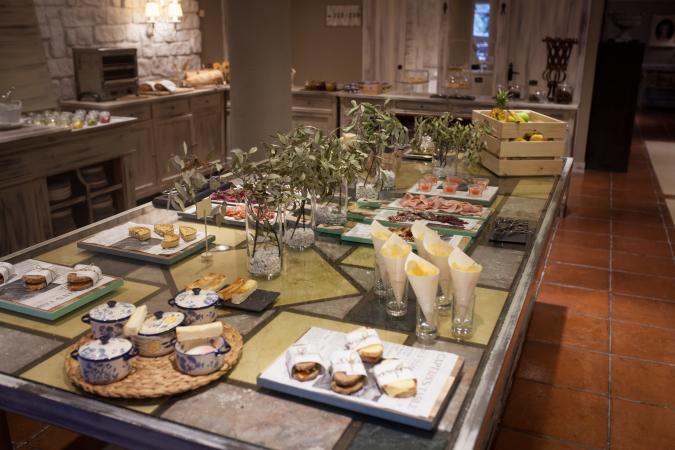 Desayuno Pamplona El Toro Hotel&Spa.