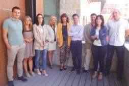 Las empresas que optan al Sello Reconcilia 2018 de AMEDNA, durante una sesión formativa en las instalaciones de CEN.