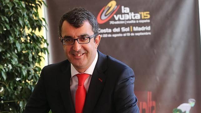 Javier Guillén es el director de Unipublic y de la Vuelta Ciclista a España.