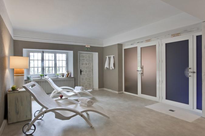Imagen de la sala de bienestar de Pamplona El Toro Hotel&Spa.