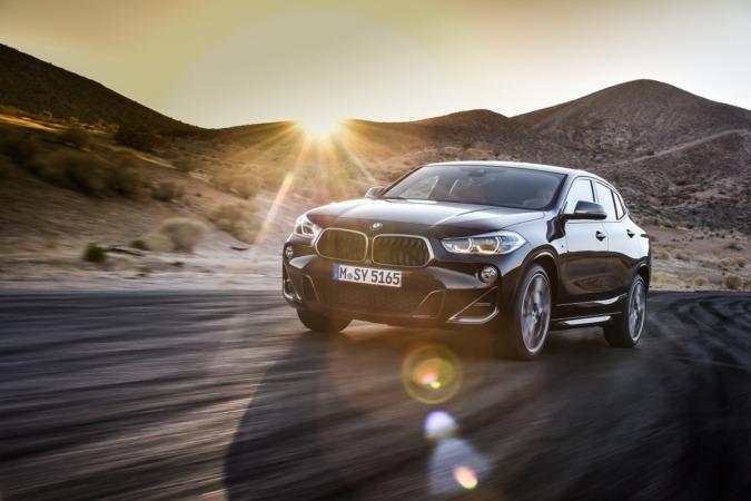 Imagen promocional del nuevo BMW X2 M35i.