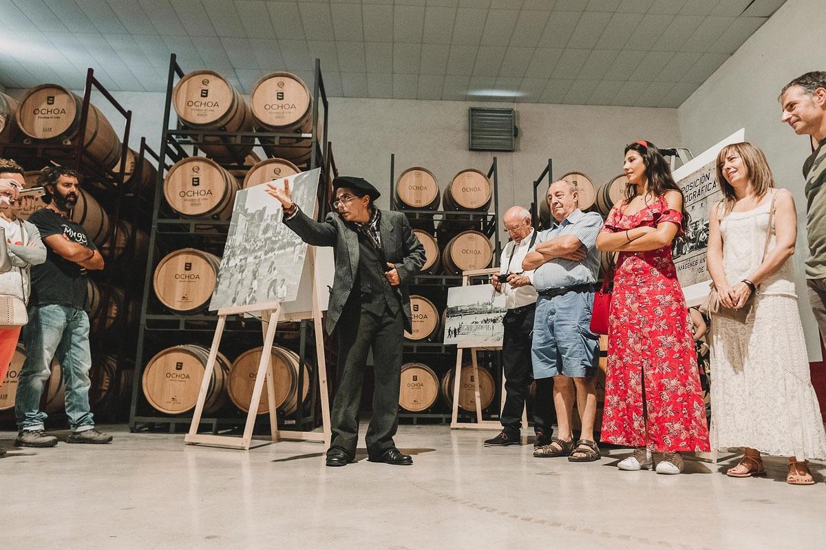 De fiesta en Bodegas Ochoa