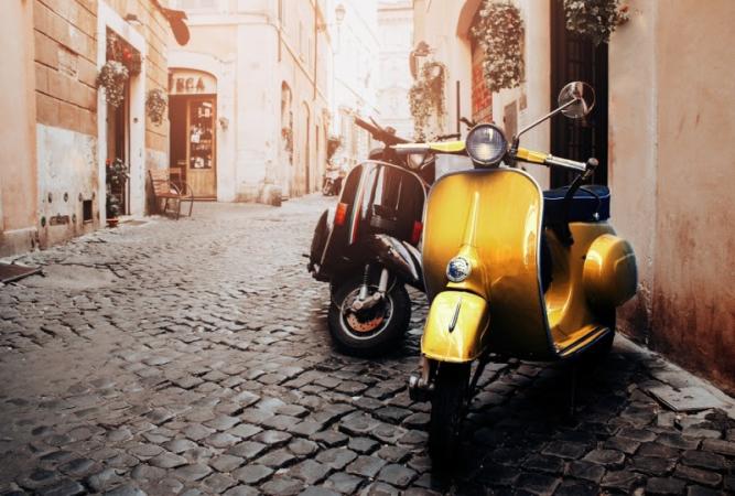 La Vespa más que una moto es un estilo de vida.