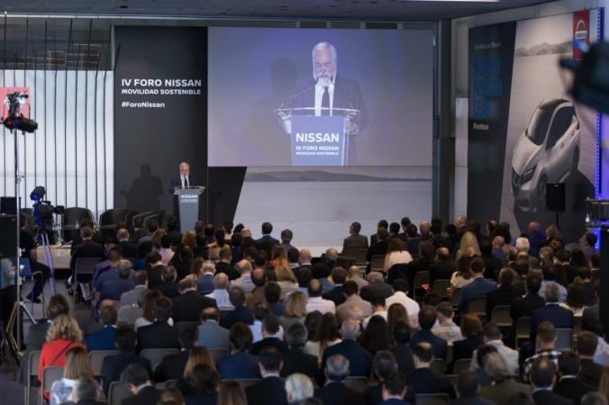 Vista panorámica del IV Foro Nissan celebrado recientemente en Madrid