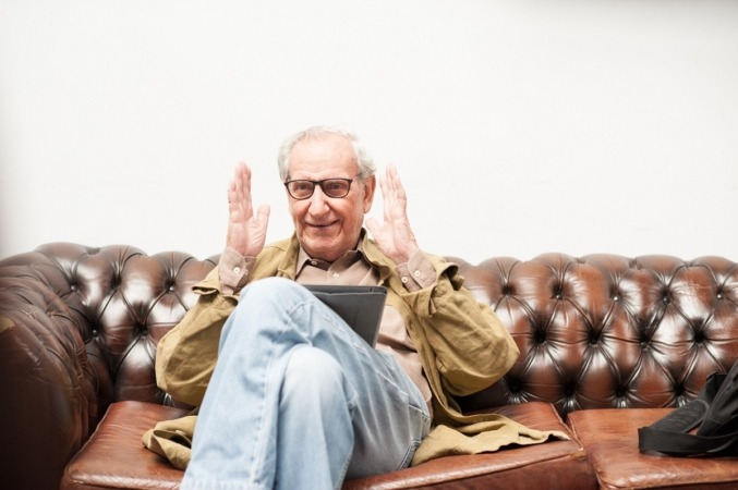 El cineasta Jaime Chávarri será homenajeado en el 19 Opera Prima de Tudela. (Foto: en Estudio Work in Progress, de Patricia Fuertes)