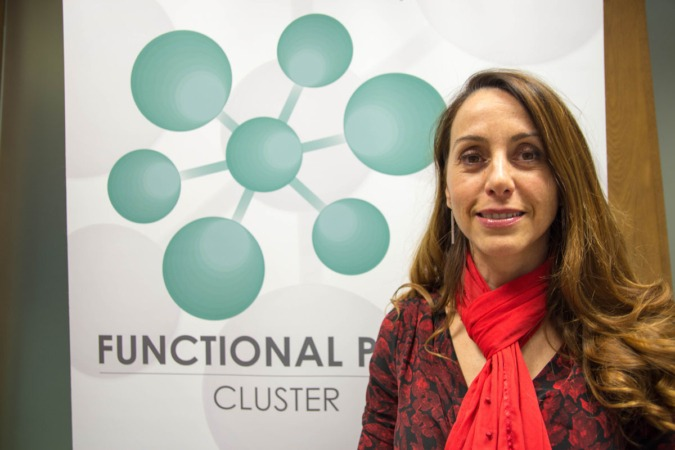 Mar González, gerente del Cluster Functional Print.