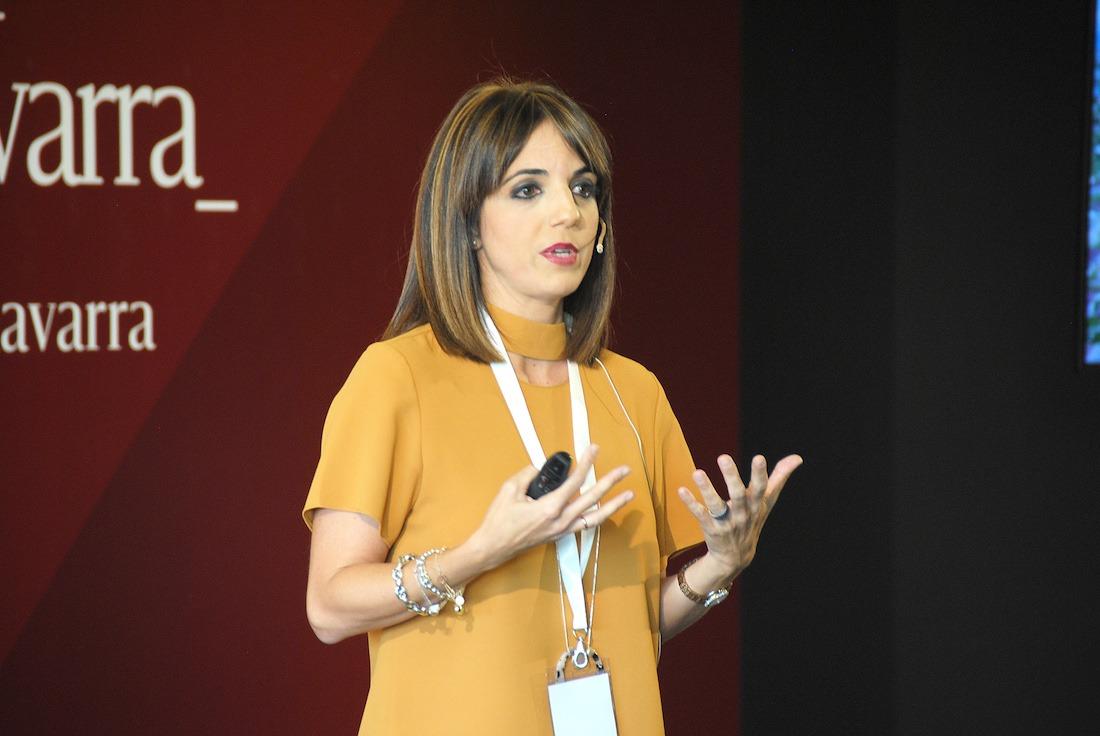 María Jesús Valdemoros, economista. (FOTOS: M.B.)