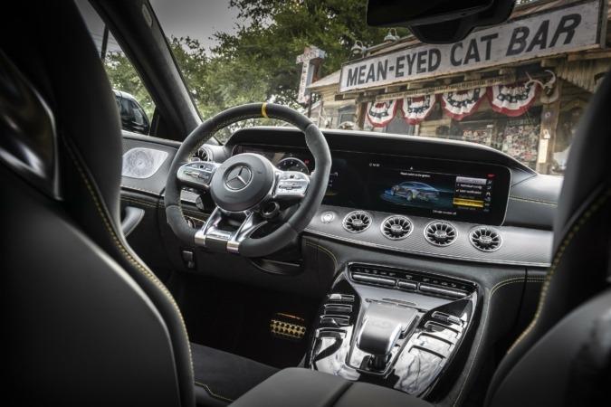 Mercedes AMG-GT interior
