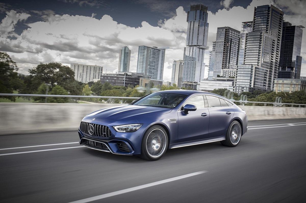 Imagen promocional del nuevo Mercedes AMG-GT