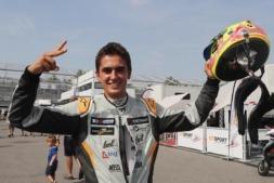 El falcesino Mikel Azcona, nuevo campeón del TCR Europa al volante de un Seat CUPRA.