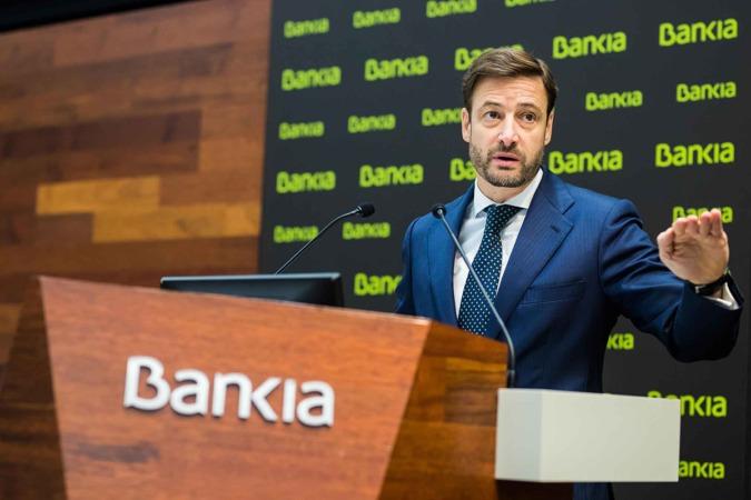Leopoldo Alvear, director financiero de Bankia.