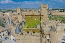 El Palacio de Olite es uno de los recursos turísticos más visitados de Navarra.