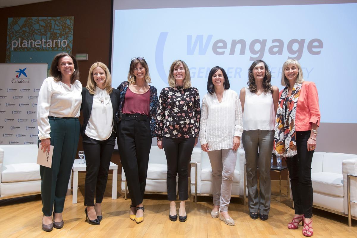 Ana Díez Fontana, Leire Armendáriz, Mapi Veintemillas, Naiara Jiménez, Mar Cuadrado, Ascen Cruchaga y Mari Carmen Peña.