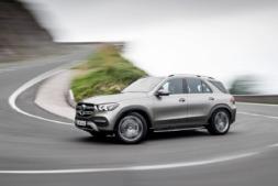 Imagen promocional del nuevo Mercedes GLE-1
