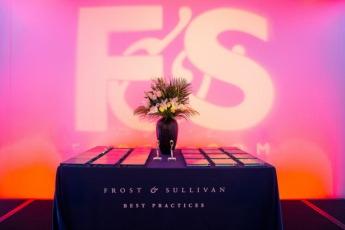 Imagen del 'Premio a la Excelencia en las mejores Prácticas' de Frost & Sullivan.