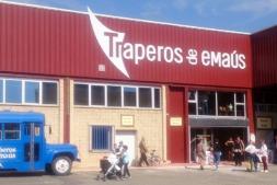 Nueva sede de os Traperos de Emaús en Berriozar.