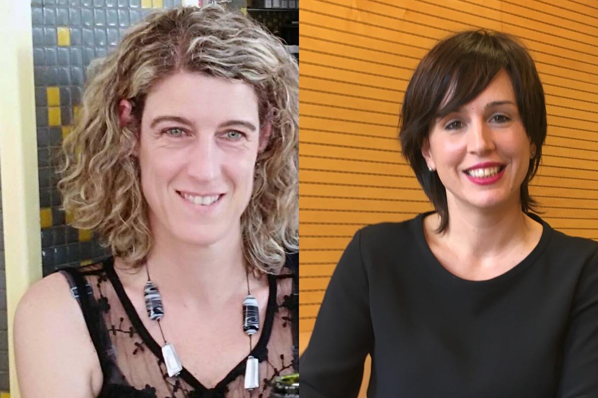 Laura Arzoz y Ana Goyén recibirán sus premios el próximo lunes.