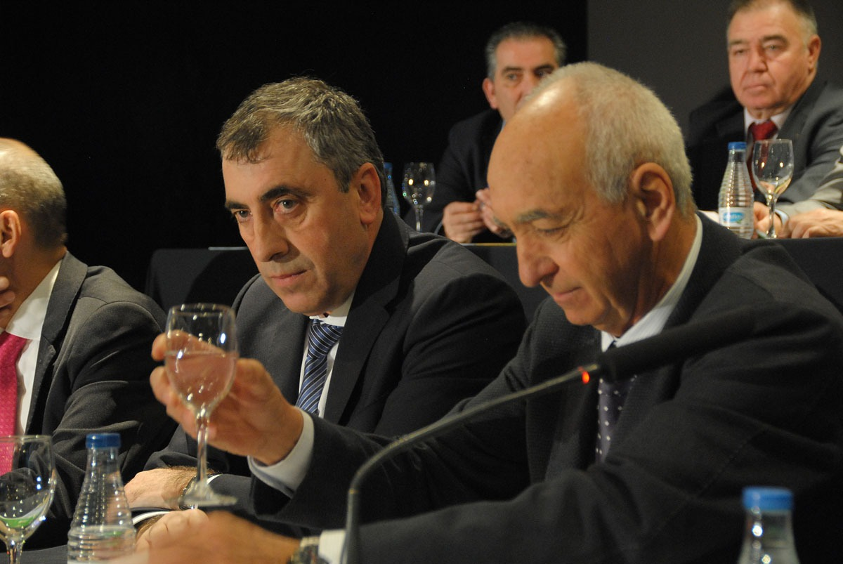 Alfredo Arbeloa, director general de Grupo AN, y Francisco Arrarás, presidente.