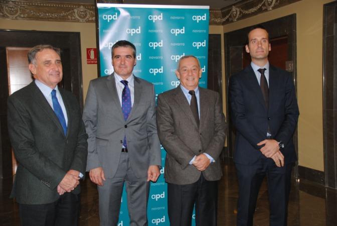 José Antonio Sarría, Benito Jiménez, Carlos Solchaga y David Zubizarreta.