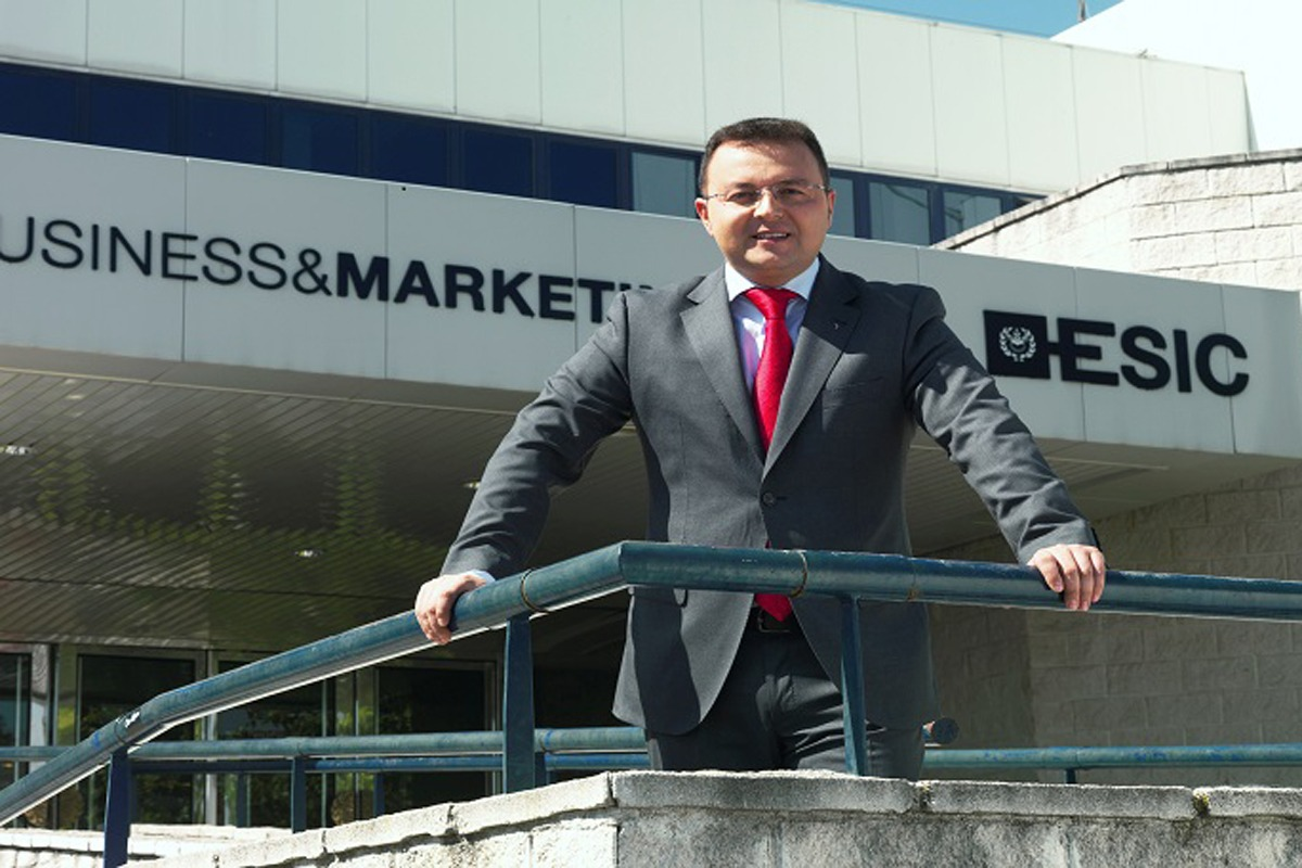 Edardo Gómez Martí, director general de ESIC Business& Marketing School.