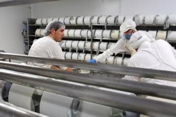 Producción cubas desmoldeo y prensado
