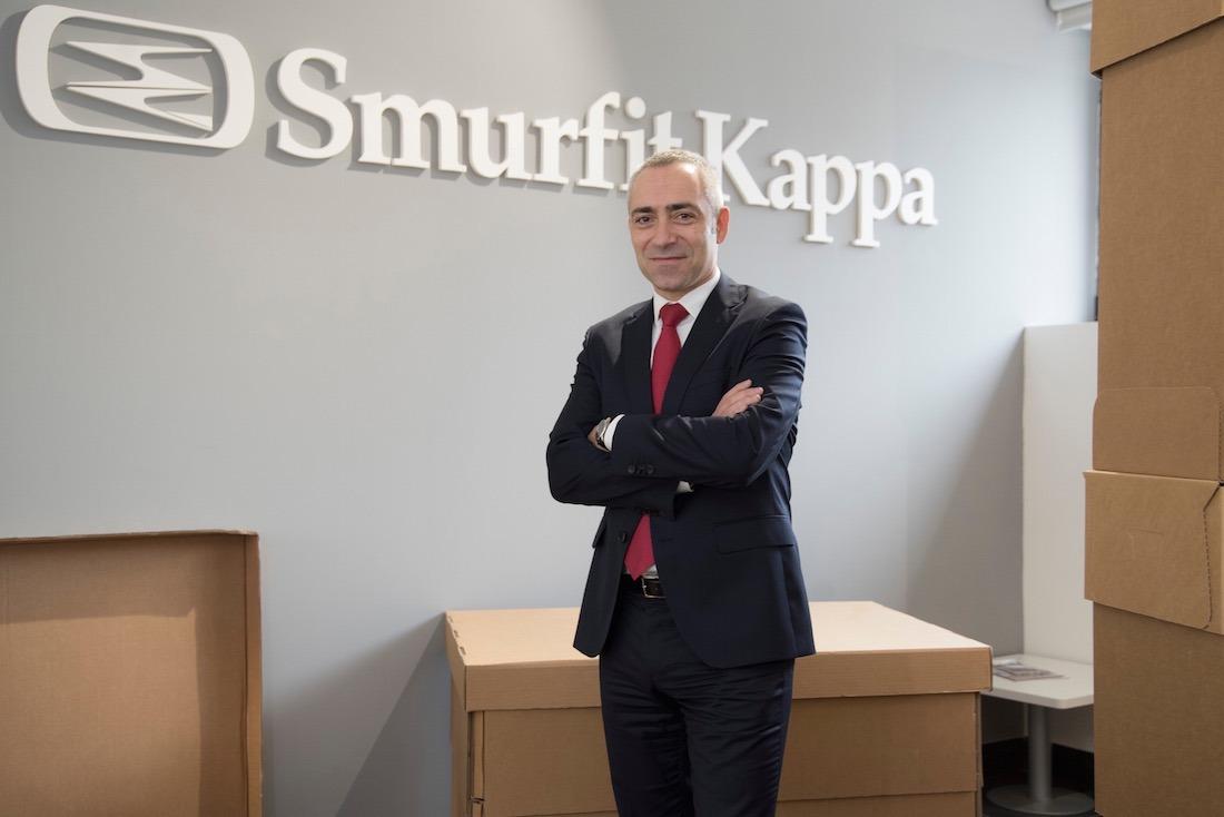 Ignacio Landa es el director general de Smurfit Kappa Navarra (Cordovilla), que emplea alrededor de 400 personas en 3 plantas. (Fotos: David Muñiz)